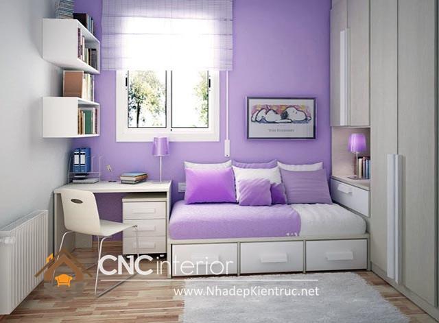 cách trang trí phòng ngủ có diện tích nhỏ (7)