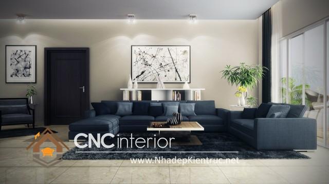 nội thất phòng khách nhà phố (4)