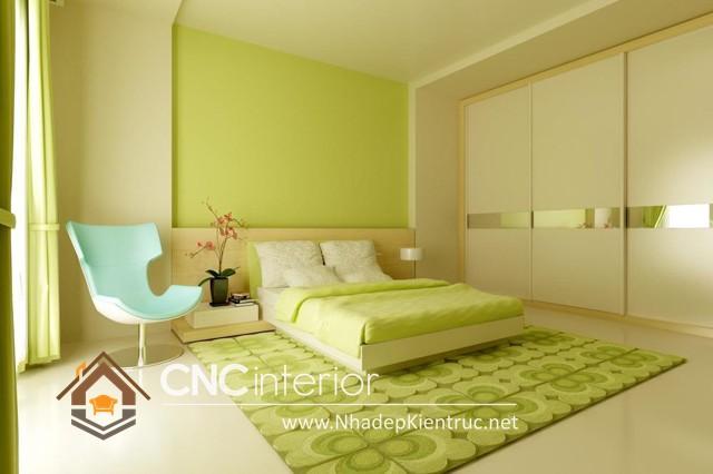 phòng ngủ màu xanh (1)