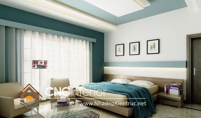 phòng ngủ màu xanh (6)