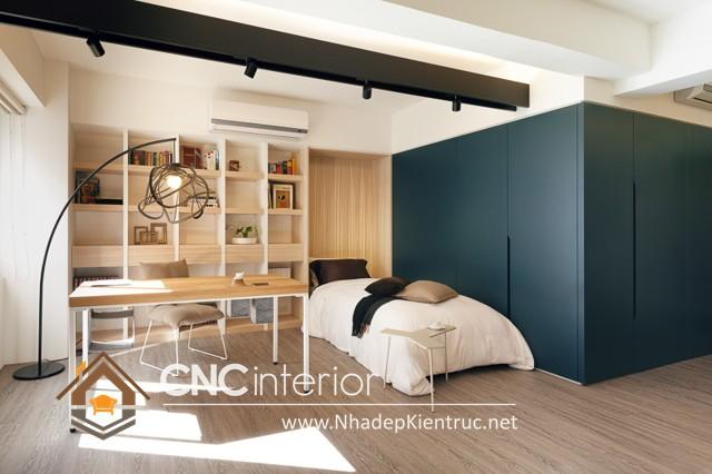 phòng ngủ nhỏ gọn (3)