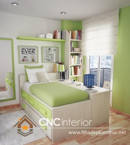 phòng ngủ nhỏ gọn (7)