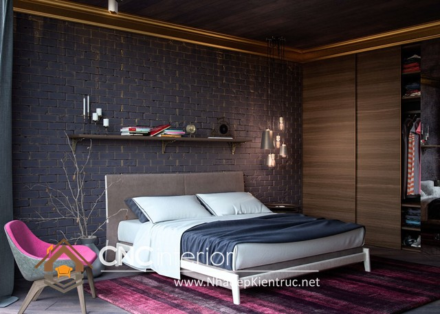 phòng ngủ nhỏ gọn (4)