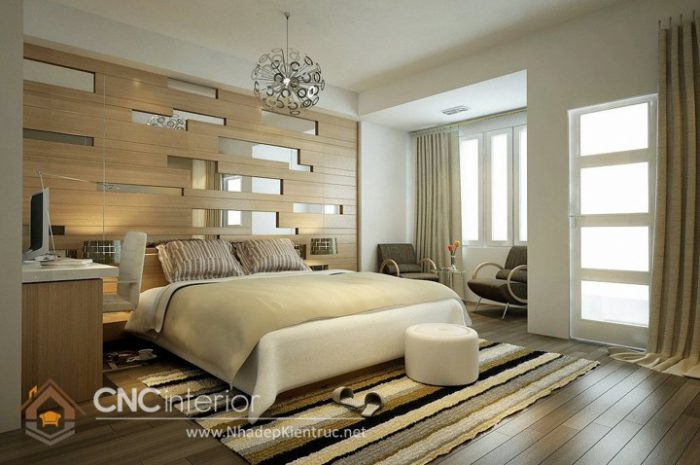 phòng ngủ đơn giản tiết kiệm