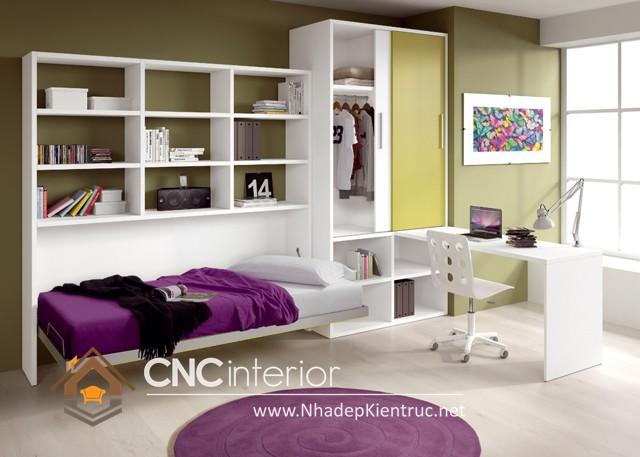 phòng ngủ nhỏ xinh (9)
