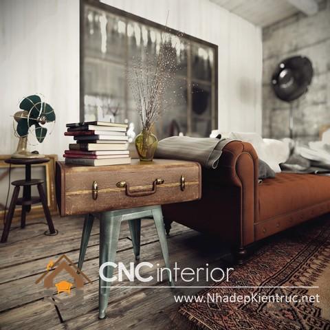 phòng ngủ phong cách vintage (3)