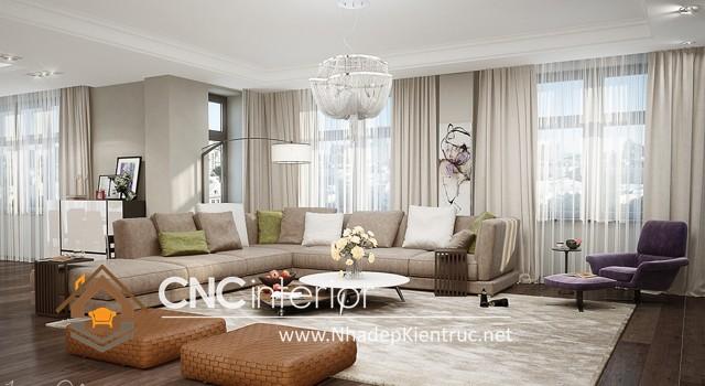 thiết kế nội thất chung cư hiện đại (2)