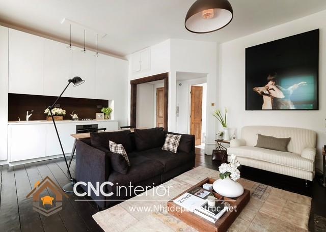 thiết kế nội thất chung cư hiện đại (4)