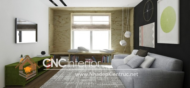 thiết kế nội thất nhà nhỏ (4)