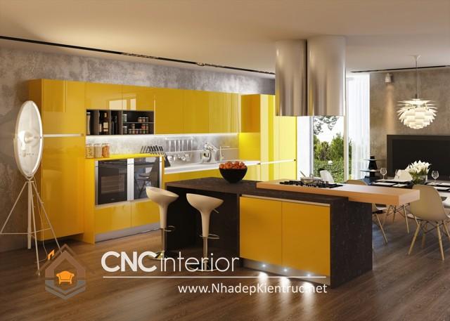 tủ bếp Acrylic (1)