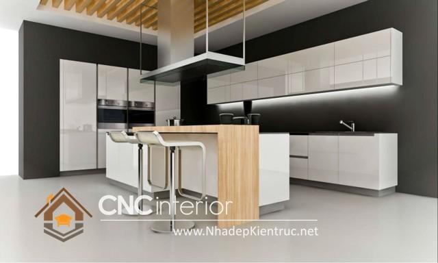 tủ bếp Acrylic (2)