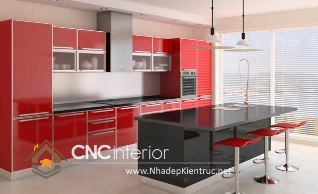 tủ bếp Acrylic (3)
