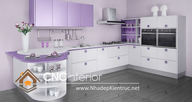 tủ bếp Acrylic (8)