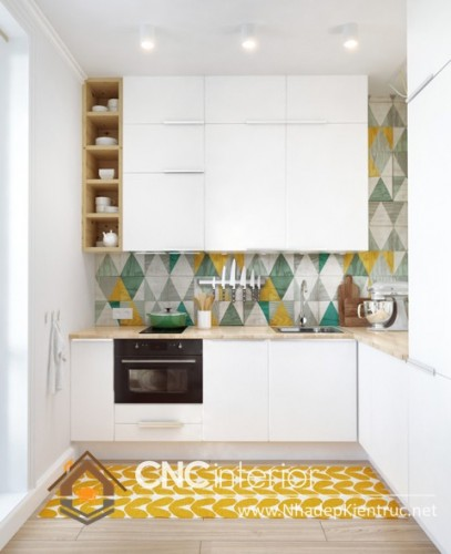 tủ bếp cho nhà nhỏ (1)