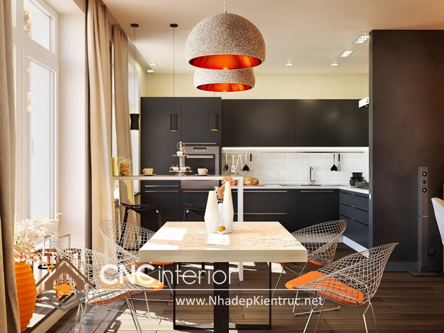 tủ bếp cho nhà nhỏ (2)
