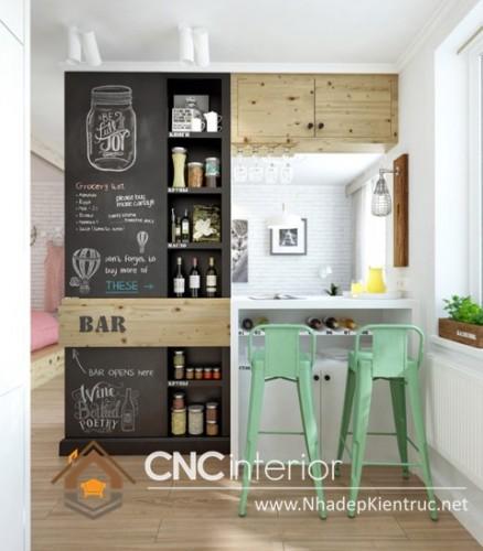 tủ bếp cho nhà nhỏ (4)