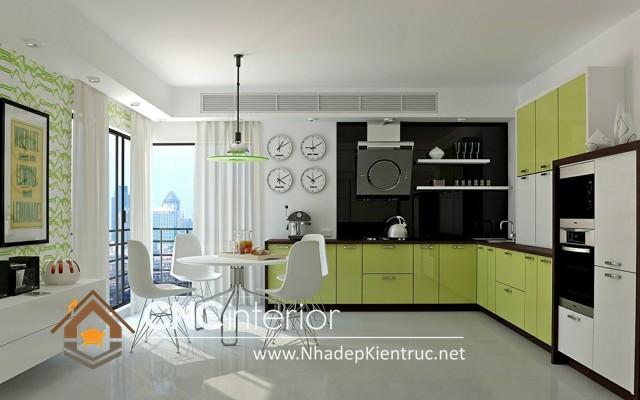 tủ bếp chung cư (2)