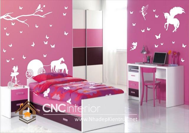 Phòng ngủ trẻ em đẹp (3)