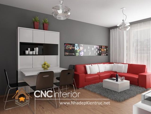 nội thất nhà phố hiện đại (4)