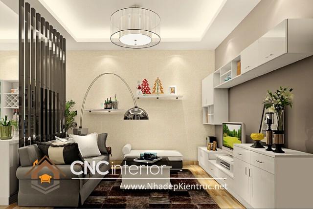 nội thất phòng khách chung cư nhỏ (1)