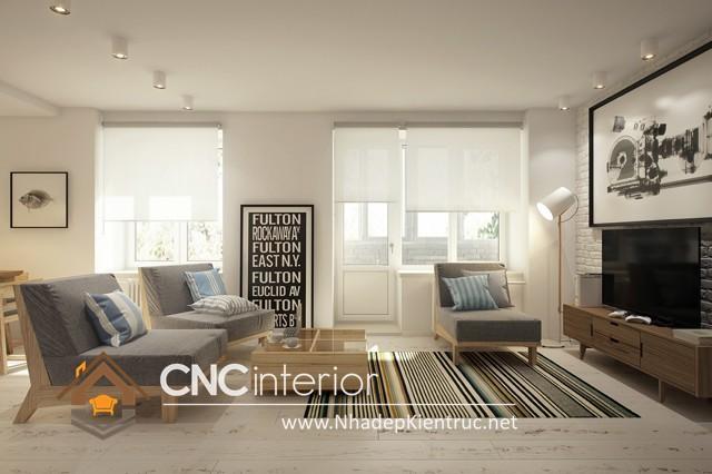 nội thất phòng khách chung cư nhỏ (4)