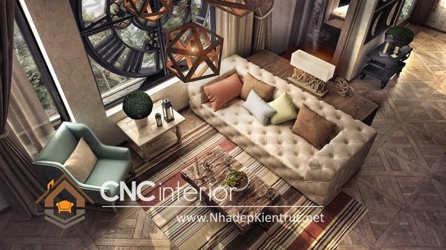 nội thất phòng khách chung cư nhỏ (5)