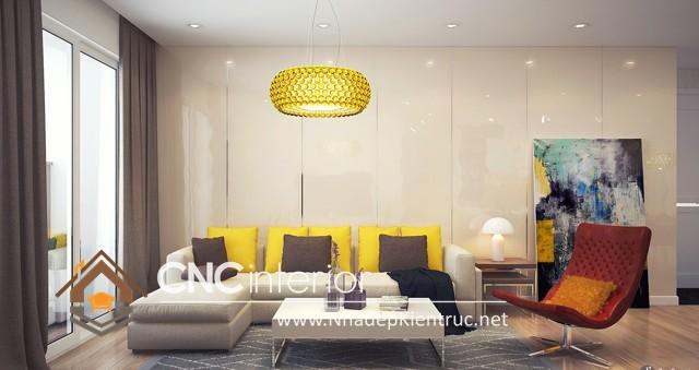 nội thất phòng khách chung cư nhỏ (6)