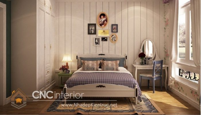 Phòng ngủ kiểu Hàn Quốc