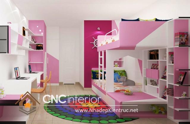 Phối cảnh phòng con gái (1)