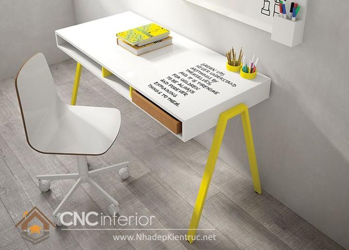 Các kiểu bàn học đẹp 09