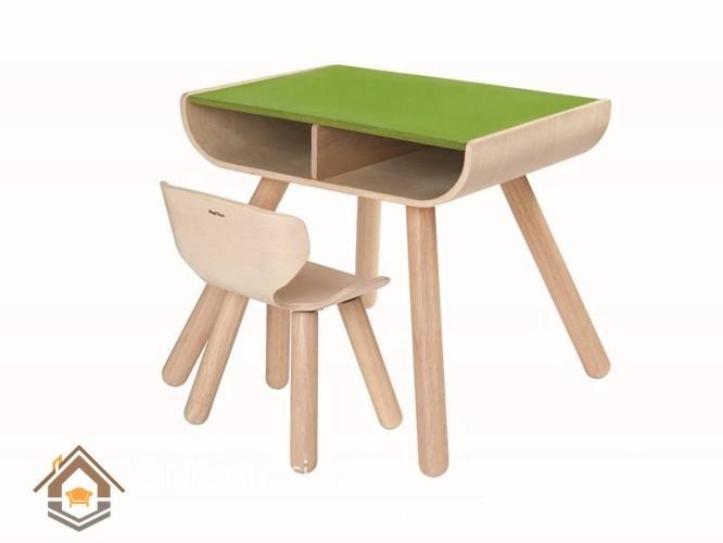 mẫu bàn học gỗ đẹp cho bé (1)