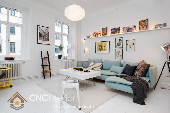 bàn ghế phòng khách nhỏ gọn (4)