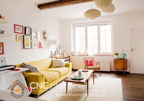 bàn ghế phòng khách nhỏ gọn (7)