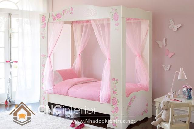 mẫu giường ngủ gỗ đẹp cho bé (5)