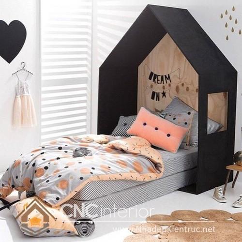 mẫu giường ngủ gỗ đẹp cho bé (8)