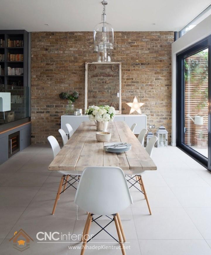 Bộ bàn ăn gỗ đẹp (1)