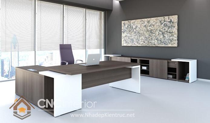 Mẫu bàn giám đốc hiện đại (1)
