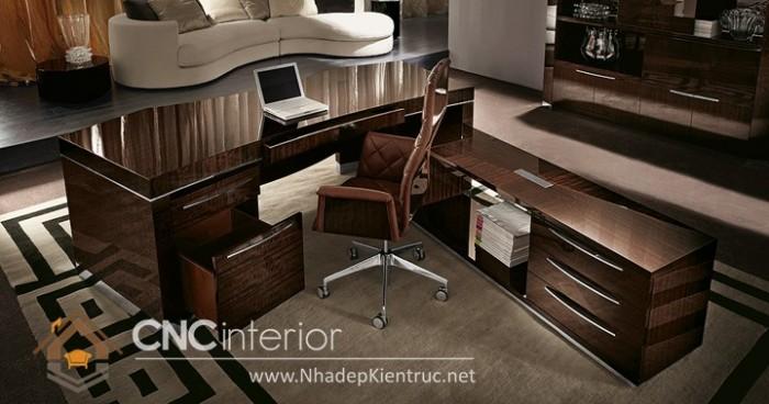 Mẫu bàn giám đốc hiện đại (2)
