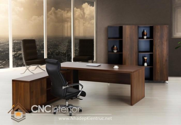 Mẫu bàn giám đốc hiện đại (4)