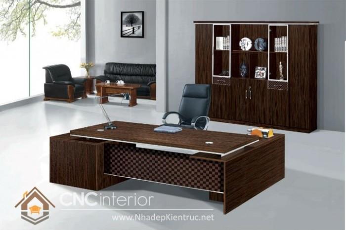 Mẫu bàn giám đốc hiện đại (6)