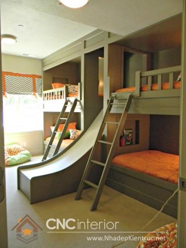 Mẫu giường tầng gỗ đẹp (3)