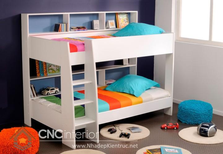 Mẫu giường tầng gỗ đẹp (1)