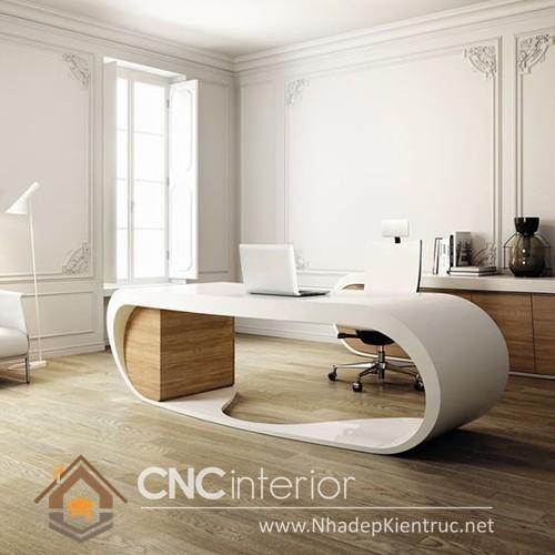 bàn làm việc tại nhà bằng gỗ (4)