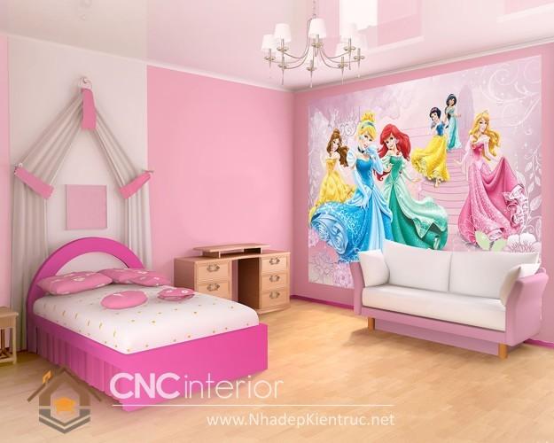 giường ngủ kiểu công chúa