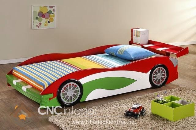 giường ngủ xe hơi cho bé (4)