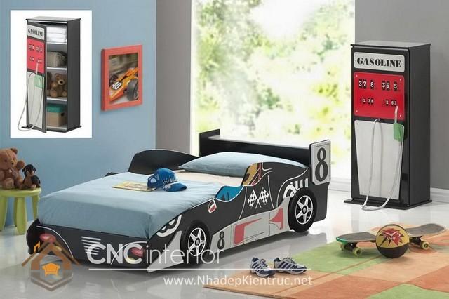 giường ngủ xe hơi cho bé (7)