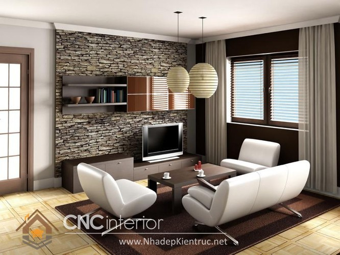 mẫu giấy dán tường phòng khách đẹp (1)
