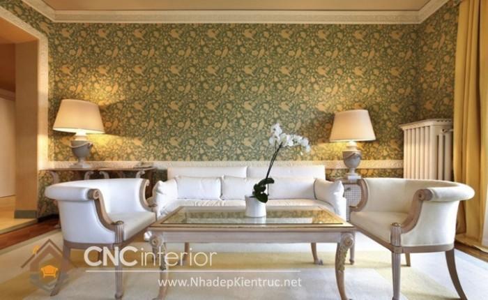 mẫu giấy dán tường phòng khách đẹp (5)