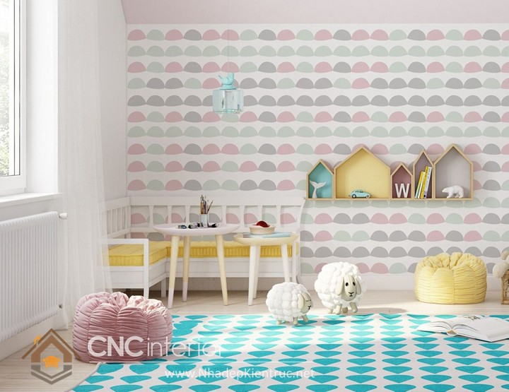 Vẽ tranh tường phòng ngủ đơn giản (11)