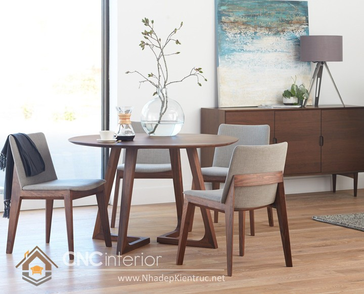 Bộ bàn ăn đẹp hiện đại 02